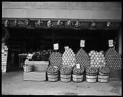 [Fruit in Baskets outside Souvenir Shop, Florida]