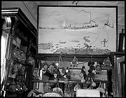 [Store Interior with Painting by a Sponge Diver, Florida]