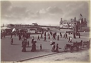 Rhyl. The Pavilion and Pier