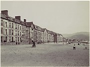 Barmouth. Marine Terrace and Esplanade