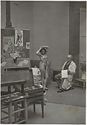 Matisse and his Model at the Villa D'Alésia
