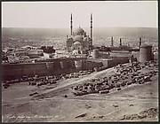 Caire près du Mokkatam