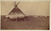[Teepee in Native American Camp]