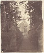 [Church Seen from the Path Leading To It]