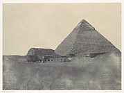 Égypte Moyenne. Pyramide de Chéphren