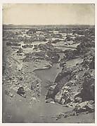 Nubie. Vue Cavalière de la Seconde Cataracte
