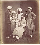 [Six East Indian Men]
