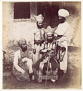 [Four East Indian Men]