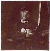 [Betty Reynolds with Doll on Lap]