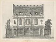 Maison Élevée Rue St. Georges par M. Renaud