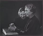 Helen Keller with Polly Thomson