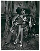 Sophia Loren with Her Son Eduardo
