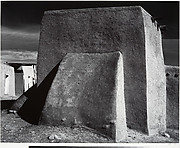 Rear of Church, Cordova, New Mexico