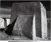 Rear of Church, Cordova, New Mexico
