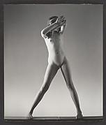 [Nude Girl Standing, Possibly Elizabeth Lynes]
