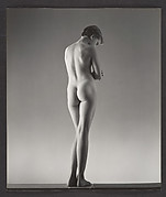 [Nude Young Girl Standing, Possibly Elizabeth Lynes]