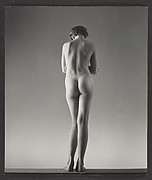 [Nude Young Girl, Standing, Possibly Elizabeth Lynes]