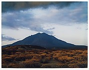 Las Tres Virgenes Volcano at Sunset, Near Mezquital, Baja California, Mexico