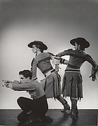 Michael Kidd, Beatrice Tompkins and Ruby Asquith in