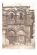 Jérusalem, Saint Sépulcre, Façade