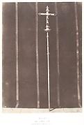 Jérusalem, croix en argent ciselé, donnée par Louis XII à l'Eglise du Saint Sépulcre