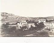 Jérusalem, Mosquée d'Omar, côté est, Intérieur de l'enceinte, 2