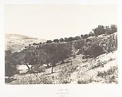 Jérusalem, Vue générale de la Vallée de Hinnom