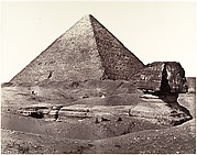 The Great Pyramid and The Great Sphinx