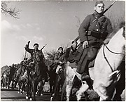 [Soldiers on Horseback, International Brigade, Spain]