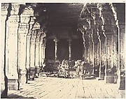Outer Prakarum on the North Side of the Temple of the God Sundareshwara