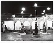 [Sobol Brothers Gasoline Station at Night]