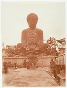 [Shrine with Monumental Statue of Buddah]