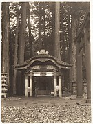 [Gates in Forest, Nikko (?)