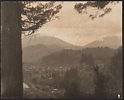 [View of Mountains and Valley from Above]