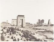 Karnak (Thèbes), Vue Générale des Ruines Prise du Point B