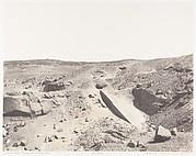 Assouan (Syène), Carrières de Granit - Ancien Système d'Extraction