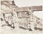 Djerf-Hocein (Tutzis), Hemi-Spéos, Colosses de la Partie Extérieure