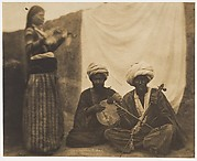 Egyptian Musicians (Rawab) and Alme