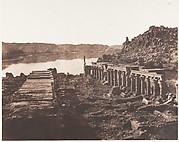 Ile de Fîleh (Philæ), Vue Génèrale Prise du Point I, Sur La Plateforme du Pylône