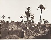 Abâzîz, Intérieure d'un Village Arabe