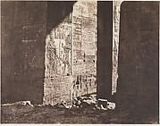 Ile de Fîleh (Philæ), Premier Pylône, Inscription Française Gravée Sur L'Ébrasement Oriental, En M