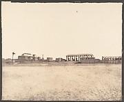 Louksor (Thèbes), Vue Générale des Ruines