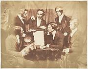 Prof. Fraser, Rev. Welsh, Rev. Hamilton, and Three Other Men
