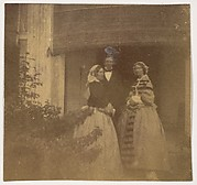 [Countess Canning with Guests, Government House, Allahabad]