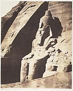 Abou Sembil, Grand Spéos - Statues Colossales, Vues de Trois-Quarts