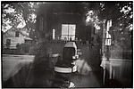 Barber Shop through Screen Door—McClellanville, South Carolina