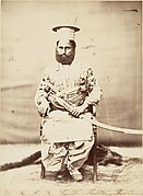 [Eastern Man with Beard and Sabre]