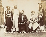 [British Gentleman with Group of Eastern Potentates]