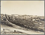 [View of Bethlehem from the Jerusalem Road]