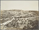 [Mount of Olives from near St. Stephen's Gate, Jerusalem]